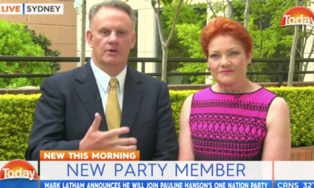 The media used to love Mark Latham