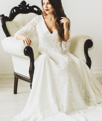 Wedding Dresses for Second Marriage Over 40