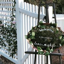wedding venues in New Hampshire's - The Gardens at Uncanoonuc 2