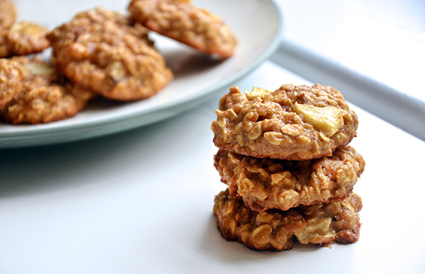 Image result for Apple Oatmeal cookies