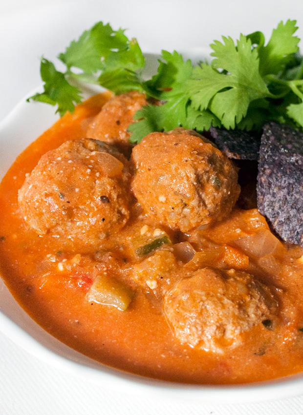 Ground Turkey Meatball Soup Recipe