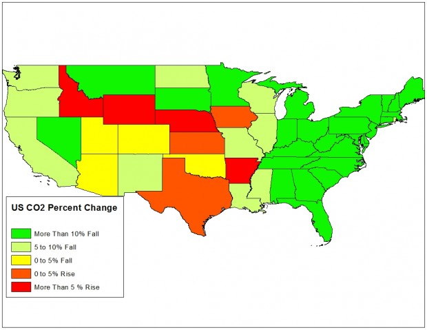 Source: Energy Information Administration Data Complied And Mapped By The DCNF