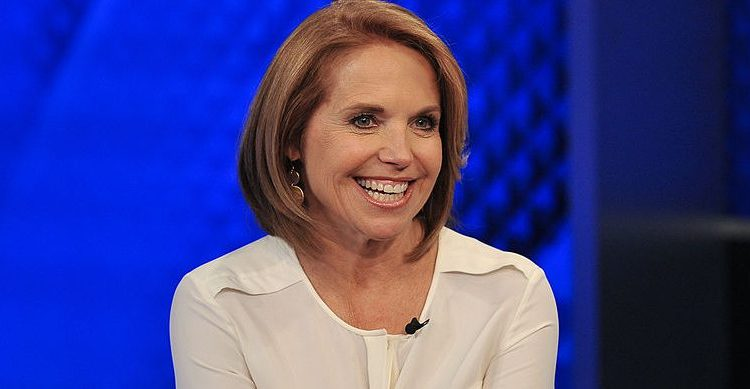 """Katie Couric visits """"The O'Reilly Factor"""" at FOX Studios on May 13, 2014 in New York City"""