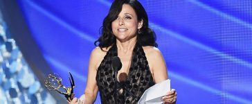 Actress Julia Louis-Dreyfus accepts Outstanding Lead Actress in a Comedy Series for 'Veep' onstage during the 68th Annual Primetime Emmy Awards at Microsoft Theater on September 18, 2016 in Los Angeles, California