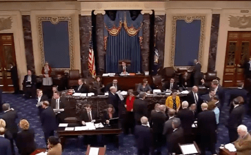 U.S. Senate Floor (CSPAN Screen Shot)