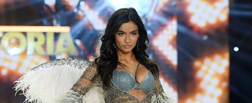 Kelly Gale walks the runway during the 2016 Victoria's Secret Fashion Show on November 30, 2016 in Paris, France. (Photo by Dimitrios Kambouris/Getty Images for Victoria's Secret)