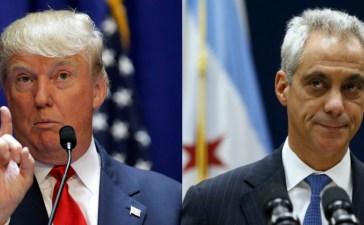 Donald Trump (Reuters) and Rahm Emanuel (Reuters)