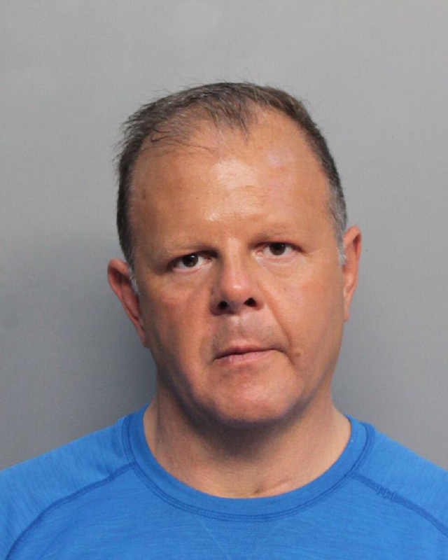 """Dominic Joseph Puopolo, 51, was arrested after making the treat on his twitter account on Monday January 16. According to officers, Puopolo posted a video on his Twitter page saying """"This is the 16th of January 2017, I will be at the review/inauguration and I will kill President Trump, President elect Trump today"""". Authorities were then alerted to the threat and arrested Puopolo as he left a Subway sandwich shop on Tuesday. He appeared in court Wednesday, where his defense attorney told Miami-Dade County Judge Mindy Glazer that his client is mentally ill and also goes by the name Jesus Christ. Glazer ordered a mental evaluation for Puopolo. If he is deemed competent, his bond will be set at $1 million. <P> Pictured: Dominic Joseph Puopolo <B>Ref: SPL1423382 180117 </B><BR /> Picture by: Splash News<BR /> </P><P> <B>Splash News and Pictures"""
