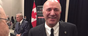 Conservative Party leadership front-runner Kevin O'Leary at a Jan. 31, 2017 campaign event in Ottawa. (Photo: David Krayden/The Daily Caller)