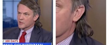 Thomas Countryam, Thomas Countryman's mullet (MSNBC)