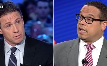 Chris Cuomo, Keith Ellison (CNN)