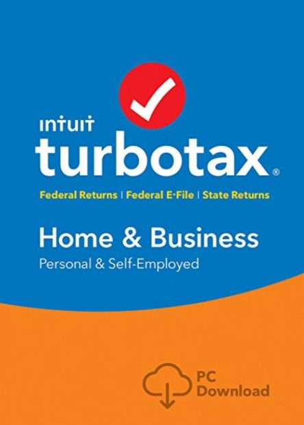 Normally $100, TurboTax Home & Business is 35 percent off (Photo via Amazon)