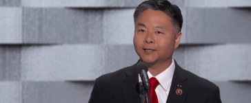 Rep. Ted Lieu (2016 Democratic National Convention You Tube Video Screen Shot