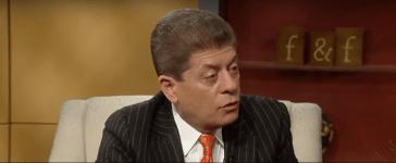 Judge Andrew Napolitano speaks on Fox News. Credit: YouTube screengrab https://www.youtube.com/watch?v=BlBPEpRD4jU