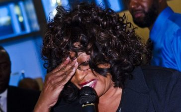 WASHINGTON, DC - APRIL 25: Representative Corrine Brown(D-FL) speaks during the Stars For Trayvon: A Fundraiser at Shadowroom on April 25, 2012 in Washington, DC. (PHOTO: Kris Connor/Getty Images)