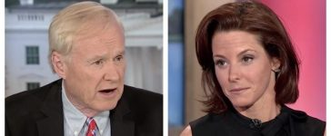 Chris Matthews, Stephanie Ruhle (MSNBC)