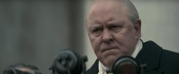 John Lithgow as Sir Winston Churchill in Netflix's The Crown. (Screenshot/YouTube)