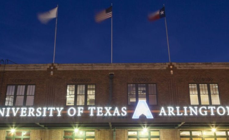 A building at the University of Texas at Arlington (Shutterstock/Philip Lange)