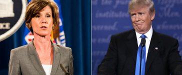 Trump, Sally Yates