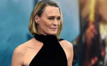 """Actor Robin Wright attends the premiere of Warner Bros. Pictures' """"Wonder Woman"""" at the Pantages Theatre on May 25, 2017 in Hollywood, California. (Photo by Frazer Harrison/Getty Images)"""