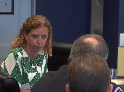 "Rep. Wasserman Schultz promises ""consequences"" for Capitol Police chief investigating her staffer"