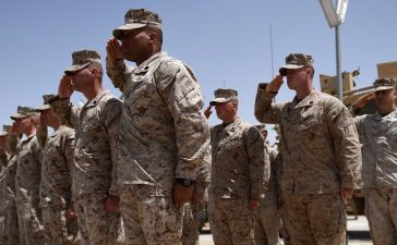 "US Marines returned to Afghanistan's volatile Helmand April 29, where American troops faced heated fighting until NATO's combat mission ended in 2014, as embattled Afghan security forces struggle to beat back the resurgent Taliban. The deployment of some 300 Marines to the poppy-growing southern province came one day after the militants announced the launch of their ""spring offensive"", and as the Trump administration seeks to craft a new strategy in Afghanistan. Wakil Kohsar/AFP/Getty Images."