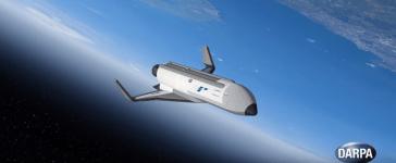 DARPA hypersonic space plane (Screenshot/Youtube/DARPAtv)