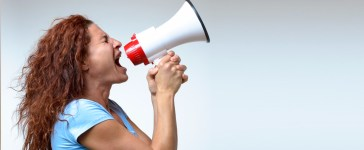 Woman screaming (Credit: Shutterstock, michaelheim)