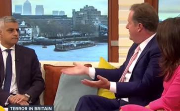London Mayor Interviewed By Piers Morgan/Youtube Screenshot/IBankcoin.com