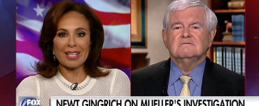 Newt Gingrich Justice With Judge Jeanine/YouTube Screenshot/The AntiCoIntelPro Show