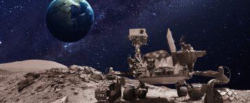 Mars rover. Elements of this image furnished by NASA (Shutterstock/Vadim Sadovski)