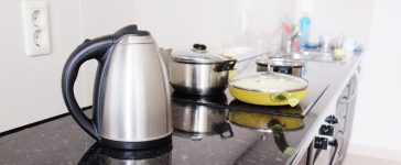 This is a stock photo of an electric kettle, not the one for sale (Photo via Shutterstock)