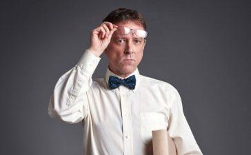 Professor raises his spectacles (Spectral-Design/Shutterstock)