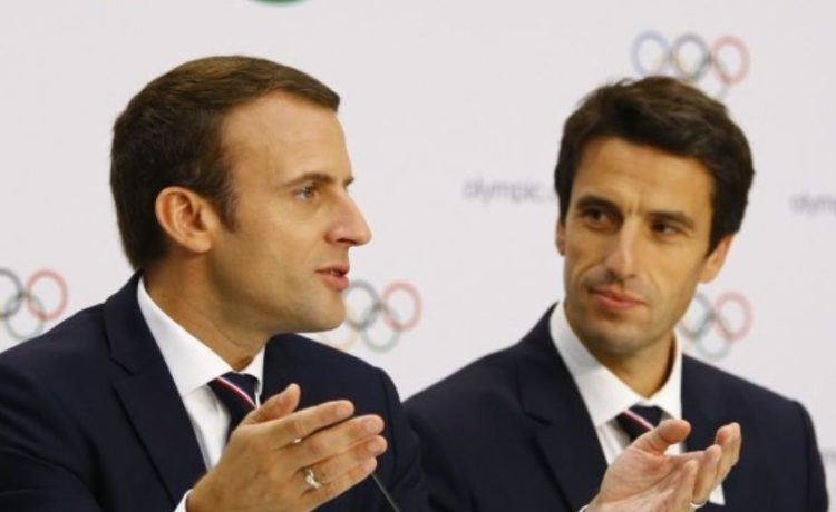 2024 Olympic Games candidate cities Paris and Los Angeles brief IOC members in Lausanne
