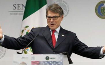 U.S. Energy Secretary Rick Perry addresses the media in Mexico City, Mexico July 13, 2017. REUTERS/Henry Romero