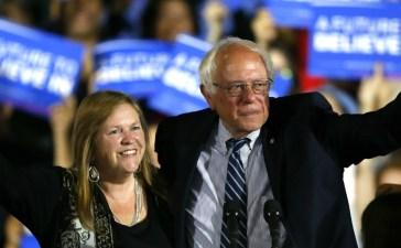 Bernie Sanders and Jane Sanders Reuters/Mario Anzuoni