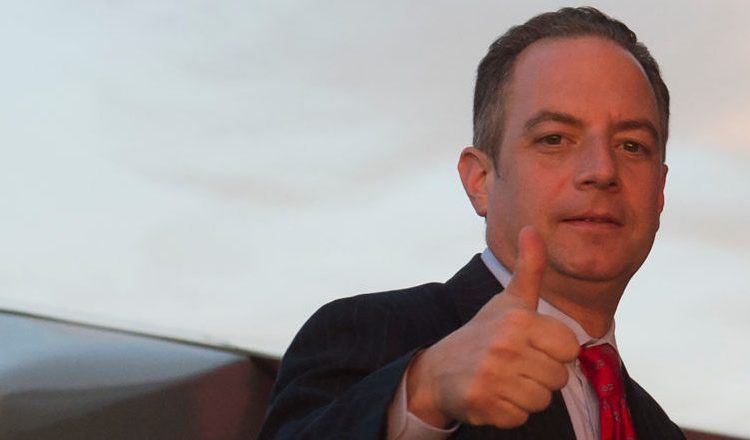 Former White House Chief of Staff Reince Priebus (Photo credit: SAUL LOEB/AFP/Getty Images)