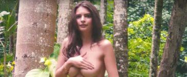 Emily Ratajkowski (Credit: Screenshot/YouTube Sports Illustrated Swimsuit)