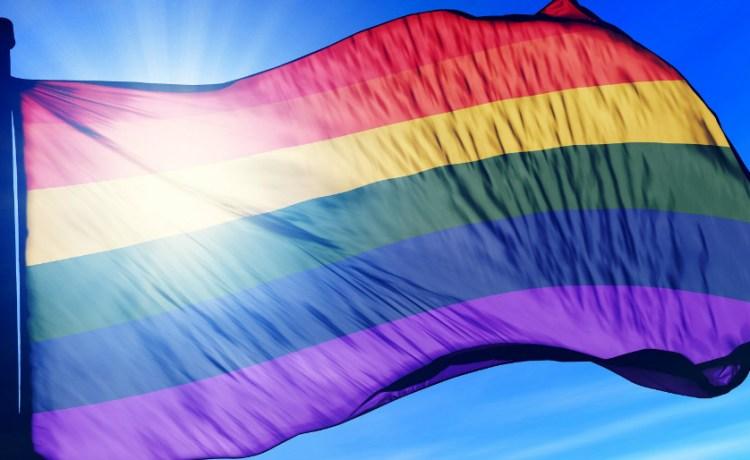 Gay pride flag. (Photo credit: Shutterstock/iri Flogel)