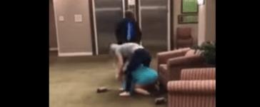 White Women Fight (YouTube Screenshot)