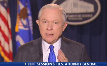 AG Jeff Sessions Promises To Take Up Cause Of Free Speech On College Campuses 09-27-17 (Screenshot-Fox News)