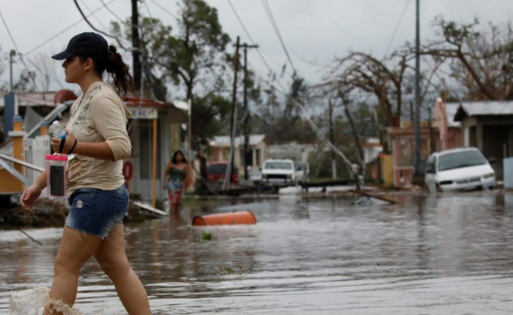 Two powerful hurricanes added to Puerto Rico's debt woes. Salinas, Puerto Rico, September 21, 2017. REUTERS/Carlos Garcia Rawlins