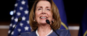 House Minority Leader Nancy Pelosi (D-CA) speaks during a press briefing on Capitol Hill in Washington, U.S., September 7, 2017. REUTERS/Joshua Roberts - RC1207FB35C0
