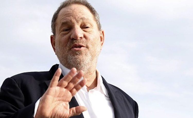 """Harvey Weinstein, US film producer and executive producer of the TV series """"War and Peace"""", poses during a photocall at the MIPCOM audiovisual trade fair in Cannes, southeastern France, on October 5, 2015. Held each year on the French Riviera, the audiovisual trade fair brings together the movers and shakers of the global entertainment business to network, talk shop and buy, sell and finance new content. (Photo credit should read VALERY HACHE/AFP/Getty Images)"""