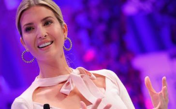 WASHINGTON, DC - OCTOBER 09: Advisor to the president Ivanka Trump speaks onstage at the Fortune Most Powerful Women Summit on October 9, 2017 in Washington, DC. (Photo by Paul Morigi/Getty Images for Fortune)