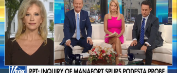 Kellyanne Conway Calls For Media To Cover Clinton Russia Connections - Fox and Friends 10-23-17 (Screenshot-Fox News)