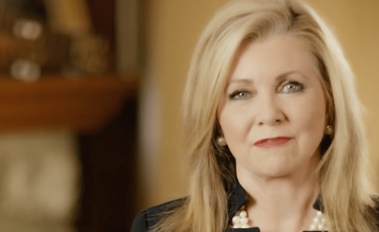 Marsha Blackburn campaign announcement. (Youtube screenshot/Marsha Blackburn For Senate)
