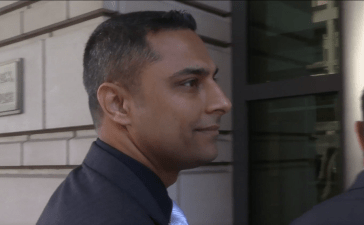 Imran Awan enters federal court Oct. 6, 2017 / One America News