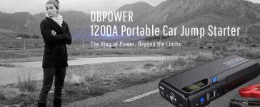 DBPower jump starter (Photo via Amazon)