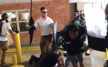 Deandre Harris being beaten (Brenton Roy/TheDCNF).